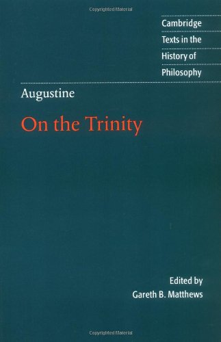 9780521796651: Augustine: On the Trinity Books 8-15 (Cambridge Texts in the History of Philosophy)