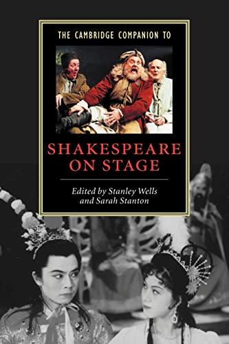 9780521797115: The Cambridge Companion to Shakespeare on Stage (Cambridge Companions to Literature)