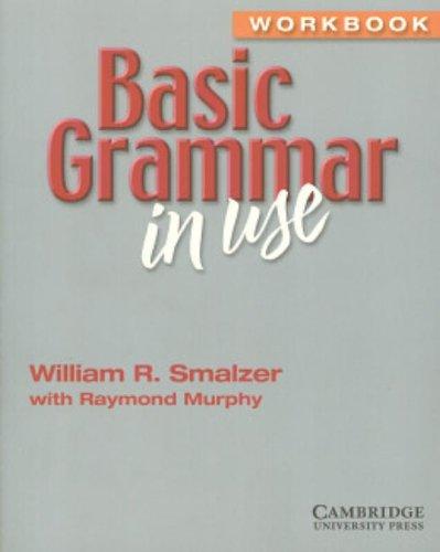 9780521797177: Basic Grammar in Use Workbook