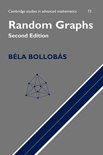 9780521797221: Random Graphs (Cambridge Studies in Advanced Mathematics)