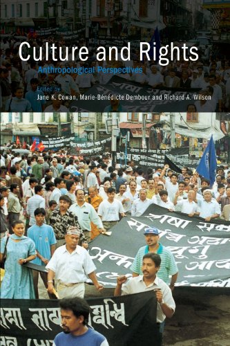 9780521797351: Culture and Rights: Anthropological Perspectives