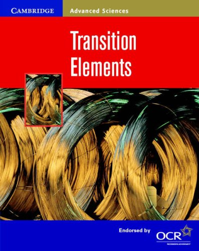 9780521797528: Transition Elements (Cambridge Advanced Sciences)