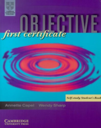 9780521798570: Objective First Certificate Student's Book with Answers