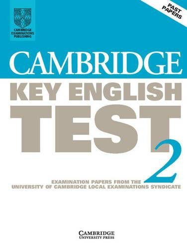 9780521799485: Cambridge Key English Test 2 Student's Book: Examination Papers from the University of Cambridge Local Examinations Syndicate