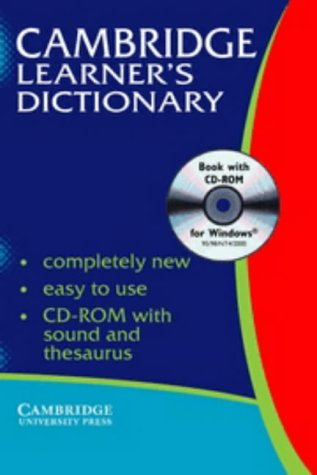 9780521009799: Cambridge Learner's Dictionary with CD-ROM India ...