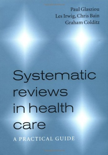 9780521799621: Systematic Reviews in Health Care: A Practical Guide