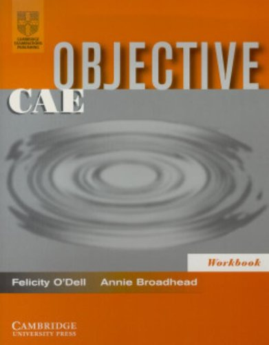 9780521799881: Objective CAE Workbook