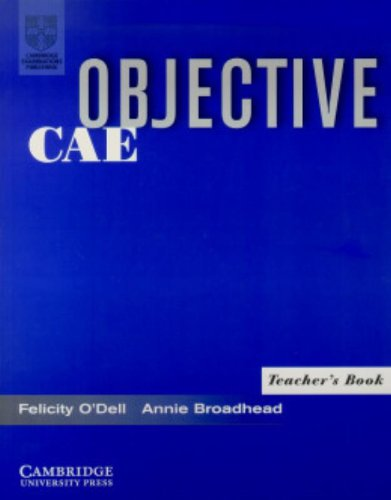 9780521799904: Objective CAE Teacher's Book