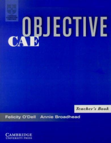 9780521799904: Objective CAE Teacher's Book