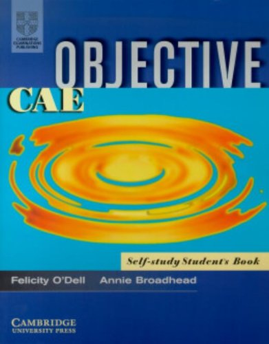9780521799911: Objective CAE Self-study Student's Book
