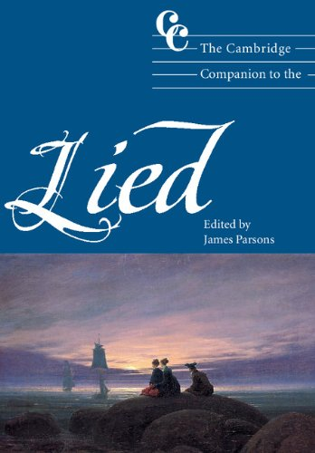 9780521800273: The Cambridge Companion to the Lied (Cambridge Companions to Music)