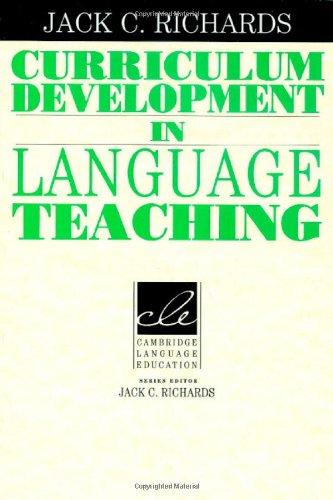 9780521800600: Curriculum Development in Language Teaching (Cambridge Language Education)