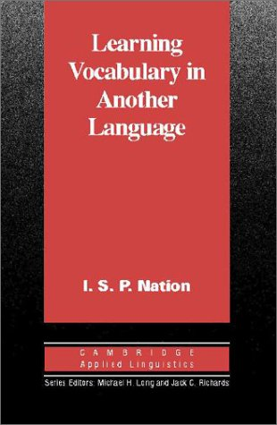 9780521800921: Learning Vocabulary in Another Language (Cambridge Applied Linguistics)