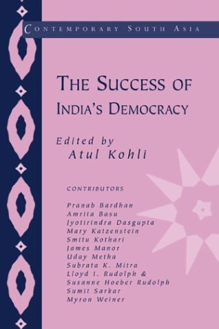 9780521801447: The Success of India's Democracy (Contemporary South Asia)