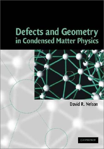 9780521801591: Defects and Geometry in Condensed Matter Physics Hardback