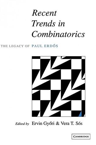 9780521801706: Recent Trends in Combinatorics Hardback: The Legacy of Paul Erdos