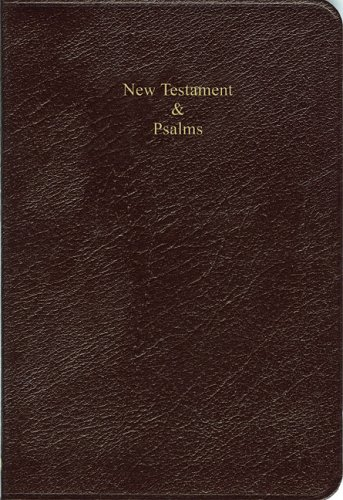 9780521801867: KJV Cameo NT and Psalms NTPR424 Burgundy Berkshire Leather