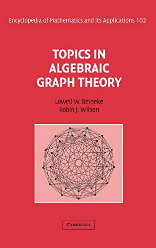 9780521801973: Topics in Algebraic Graph Theory (Encyclopedia of Mathematics and its Applications) (v. 1)