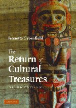 9780521802161: The Return of Cultural Treasures 3rd Edition Hardback