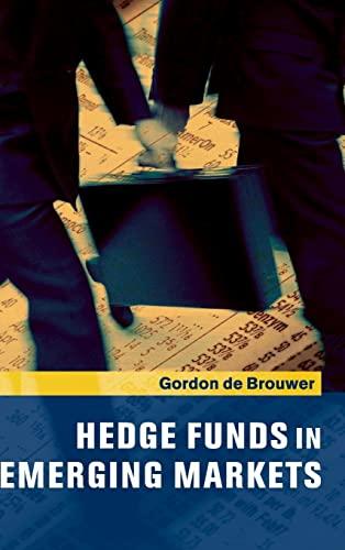9780521802338: Hedge Funds in Emerging Markets Hardback