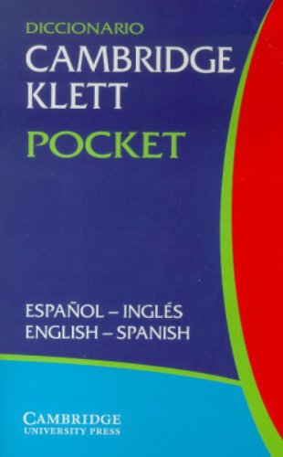 9780521802994: Diccionario Cambridge Klett Pocket Español-Inglés/English-Spanish