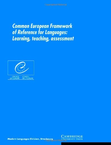 9780521803137: Common European Framework of Reference for Languages: Learning, Teaching, Assessment
