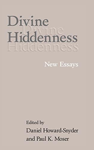 9780521803533: Divine Hiddenness: New Essays