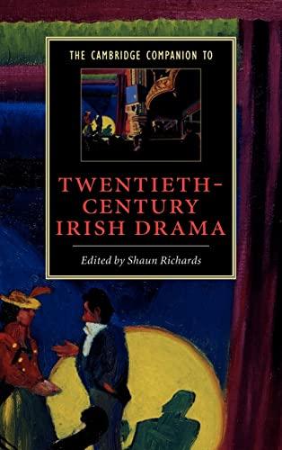 9780521804004: The Cambridge Companion to Twentieth-Century Irish Drama
