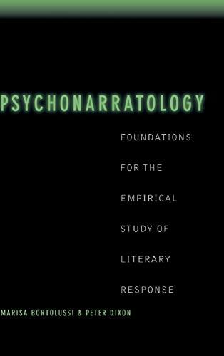 9780521804110: Psychonarratology: Foundations for the Empirical Study of Literary Response