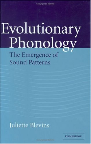 9780521804288: Evolutionary Phonology: The Emergence of Sound Patterns