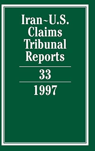 9780521804394: Iran-U.S. Claims Tribunal Reports: Volume 33