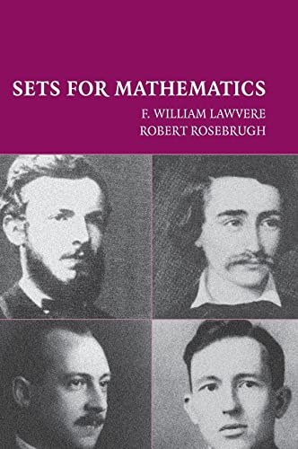 9780521804448: Sets for Mathematics