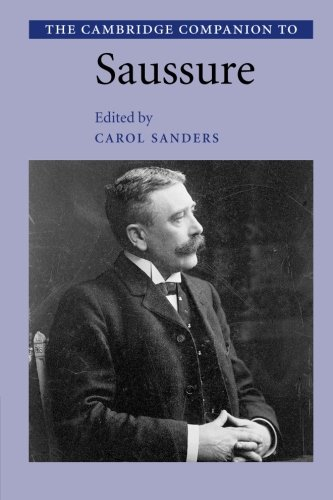 9780521804868: The Cambridge Companion to Saussure