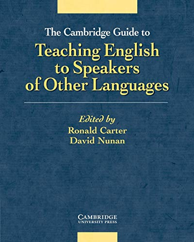 9780521805162: The Cambridge Guide to Teaching English to Speakers of Other Languages