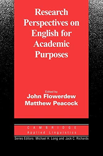 9780521805186: Research Perspectives on English for Academic Purposes (Cambridge Applied Linguistics)