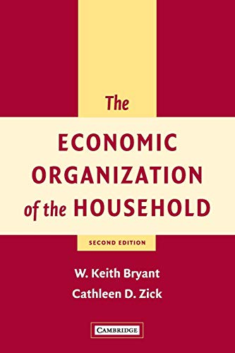 9780521805278: The Economic Organization of the Household