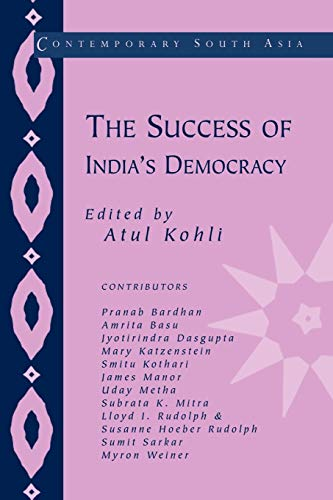 9780521805308: The Success of India's Democracy (Contemporary South Asia)