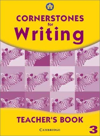 Cornerstones for Writing Year 3 Teacher's Book: Alison Green