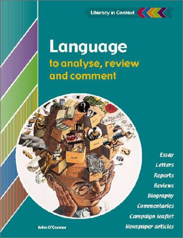 analyse and comment on the language In your language analysis (or analysing argument) sac, you will be required to analyse how language is used to persuade in three or more texts.
