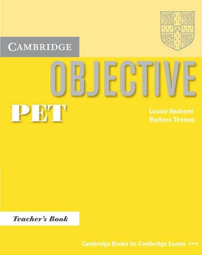 9780521805797: Objective PET Teacher's Book