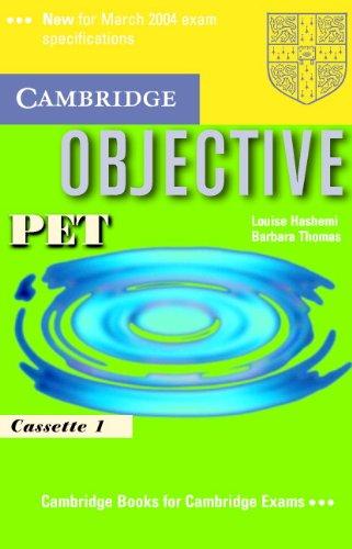 9780521805810: Objective PET Audio Cassette Set (2 Cassettes)