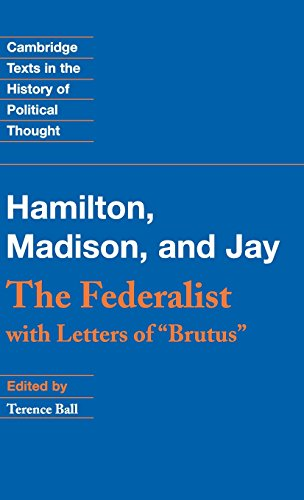 9780521806503: The Federalist: With Letters of Brutus (Cambridge Texts in the History of Political Thought)