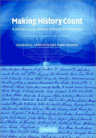 9780521806633: Making History Count: A Primer in Quantitative Methods for Historians