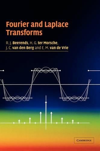 9780521806893: Fourier and Laplace Transforms