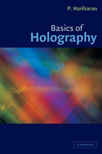 9780521807418: Basics of Holography Hardback