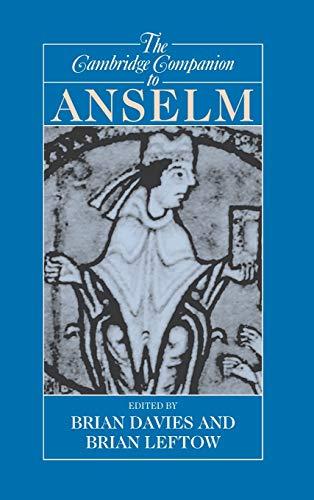 9780521807463: The Cambridge Companion to Anselm