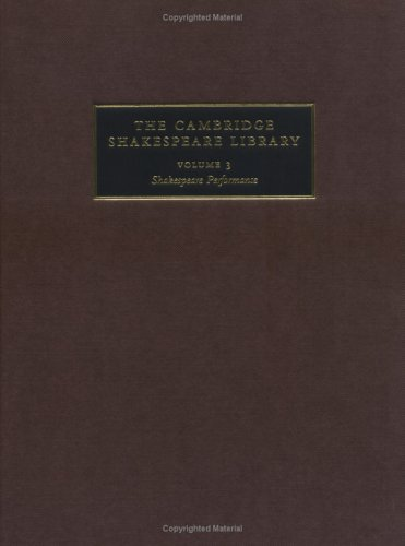 9780521808026: The Cambridge Shakespeare Library: Essays Reprinted from Shakespeare Survey (Volume 3)