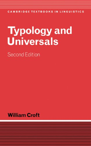 9780521808842: Typology and Universals (Cambridge Textbooks in Linguistics)