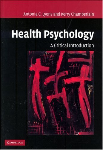 9780521808989: Health Psychology: A Critical Introduction