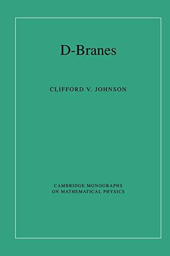 9780521809122: D-Branes (Cambridge Monographs on Mathematical Physics)